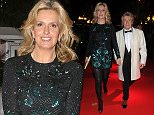 PENNY LANCASTER AND ROD STEWART SEEN LEAVING THE EMERALD AND IVY BALL IN LONDON. ROD AND PENNY WHERE LOOKING A LITTLE WORSE FOR WEAR WHEN LEAVING THE EVENT AT 1AM. SATURDAY 5TH DECEMBER 2015 - MAGICMOMENTSUK - 07753 30 30 77