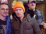 """EXCLUSIVE TO INF.\nNovember 20, 2015: Scott Weiland is photographed drinking with fans in a bar before a Scott Weiland and the Wildabouts show on November 20 at the Acada Theater, Elmwood Park, IL. Eyewitnesses said Scott was drinking what looked like vodka before the show in The House Pub bar, connected to the theater. He appeared zoned out and fans there wondered if he'd even be able to perform. """"He was really spaced out,"""" said Scott Powers, 37, who was there. """"He was definitely out of it."""" Former Stone Temple Pilots frontman Scott signed memorabilia for fans. The singer, who has a history of drug abuse, was found dead on his tour bus a few days later.\nMandatory Credit: INFphoto.com Ref: infusci-11"""