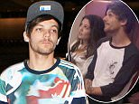 One Directon's Louis Tomlinson at LAX acting shy and kept mum on  actress Danielle Campbell whom he was seen out and about with in LA December 7, 2015 X17online.com