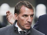 Former Liverpool manager Brendan Rodgers arrives at the Central Family Court in London. PRESS ASSOCIATION Photo. Picture date: Monday December 7, 2015. Mr Rodgers and his estranged wife Susan have agreed a settlement after becoming involved in a dispute over money in a family court, a judge has been told. See PA story COURTS Rodgers. Photo credit should read: Stefan Rousseau/PA Wire