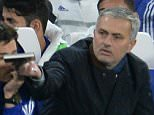 Chelsea manager Jose Mourinho holds his notebook during the Barclays Premier League match between Chelsea and AFC Bournemouth played at Stamford Bridge, London on 5th December 2015