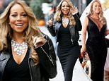 New York, NY - Mariah Carey is seen leaving her apartment heading to the Beacon theater for the ''All I Want For Christmas Is You'' concert series in New York. The singer wore a black gown and a leather jacket with her hair worn loose in waves. \n  \nAKM-GSI        December 8, 2015\nTo License These Photos, Please Contact :\nSteve Ginsburg\n(310) 505-8447\n(323) 423-9397\nsteve@akmgsi.com\nsales@akmgsi.com\nor\nMaria Buda\n(917) 242-1505\nmbuda@akmgsi.com\nginsburgspalyinc@gmail.com
