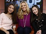 """TODAY -- Pictured: (l-r) Cara Gosselin, Kate Gosselin and Mady Gosselin appear on NBC News' """"Today"""" show -- (Photo by: Peter Kramer/NBC/NBC NewsWire)"""