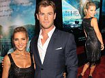 Mandatory Credit: Photo by Startraks Photo/REX Shutterstock (5480367i)\n Elsa Pataky and Chris Hemsworth\n 'In the Heart of the Sea' film premiere, New York, America - 07 Dec 2015\n Warner Bros. Pictures and Village Roadshow Pictures Presents The New York Premiere of 'In The Heart of The Sea'\n