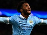 MANCHESTER, ENGLAND - DECEMBER 08:  Raheem Sterling of Manchester City celebrates scoring his side's third goal during the UEFA Champions League Group D match between Manchester City and Borussia Monchengladbach at Etihad Stadium on December 8, 2015 in Manchester, United Kingdom.  (Photo by Laurence Griffiths/Getty Images)