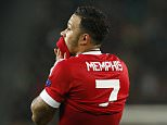 Football Soccer - VfL Wolfsburg v Manchester United - UEFA Champions League Group Stage - Group B - Volkswagen-Arena, Wolfsburg, Germany - 8/12/15  Manchester United's Memphis Depay looks dejected after missing a chance to score  Action Images via Reuters / Carl Recine  Livepic  EDITORIAL USE ONLY.