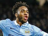 Football Soccer - Manchester City v Borussia Monchengladbach - UEFA Champions League Group Stage - Group D - Etihad Stadium, Manchester, England - 8/12/15  Raheem Sterling celebrates after scoring the third goal for Manchester City  Reuters / Darren Staples  Livepic  EDITORIAL USE ONLY.