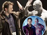 eURN: AD*190143231  Headline: Watch Chris Pratt Audition With Dave Bautista for 'Guardians of the Galaxy' (Exclusive) Caption: Now we know how Chris Pratt landed his star-making spot in Marvel?s Guardians of the Galaxy. Check out the exclusive never-before-seen audition footage above of Pratt as Peter Quill, negotiating with Dave Bautista as the muscle-bound and dim Drax the Destroyer in what would become one of the movie?s funnier scenes.  The performers act out the moment early in the film when Drax has hold of Gamora (eventually played by Zoe Saldana). He has every intention to ? you guessed it ? destroy her. It?s a good thing Quill is quick to incentivize the mammoth, tatted-up green guy to keep her alive. (Note: Drax appears decidedly more grey than green in the audition tape. We?re assuming his Drax-lite look gave writer-director James Gunn enough to go on to inform his final casting decision.)   The biggest laugh happens when the ever-literal Drax misunderstands Peter?s hand ge