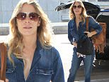 LeAnn Rimes in jean outfit at LAX catching a flight December 8, 2015  X17online.com