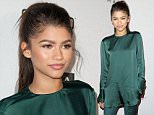 HOLLYWOOD, CA - DECEMBER 06:  Singer Zendaya arrives at T-Boz Unplugged at The Avalon on December 6, 2015 in Hollywood, California.  (Photo by Jennifer Lourie/Getty Images)