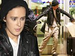 Rumer Willis arrives in Los Angeles wearing a black beanie, a leather jacket, linen pants & black boots as she tries to manage a lot of luggage while waiting for her friend to pick her up.  The former DWTS champ was seen at LAX after spending time in Miami. \n\nPictured: Rumer Willis \nRef: SPL1191725  071215  \nPicture by: Sharky / Splash News\n\nSplash News and Pictures\nLos Angeles: 310-821-2666\nNew York: 212-619-2666\nLondon: 870-934-2666\nphotodesk@splashnews.com\n