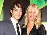 Lee Mead and his wife Denise van Outen at the aftershow party following the cast change press night for the musical Wicked at the Apollo Victoria, in Victoria, central London. ... 19-05-2010 ... Photo by: Dominic Lipinski/PA Wire.URN:8868408