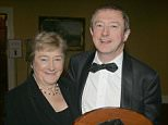 Louis Walsh gets award for Mayo person of the year at his home county in the west of Ireland.....Pictured:   Louis Walsh and mother Maureen Walsh ....Ref: SPL79280  140209  ..Picture by: Mark Doyle / Splash News....Splash News and Pictures..Los Angeles: 310-821-2666..New York: 212-619-2666..London: 870-934-2666..photodesk@splashnews.com..