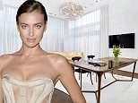 PIC FROM DOUGLAS ELLIMAN / CATERS NEWS - (PICTURED: The open plan kitchen and living room.) Sports Illustrated model Irina Shayk has listed her New York condo for a cool .99M (2.65M). The brunette bombshell has vacated her Manhattan duplex after a romance with Hollywood hunk, Bradley Copper, blossomed earlier this year. Located in one of the most coveted spots in town on a cobblestone street in the West Village, neighbours include fellow model Karlie Kloss. Fit for a fashionista, the two-bed pad comes with a walk-in closet thats bigger than the second bedroom. - SEE CATERS COPY