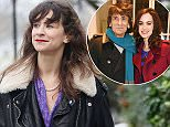 7.DEC.2015 - LONDON - UK **EXCLUSIVE ALL ROUND PICTURES** RONNIE WOOD'S DAUGHTER LEAH WOOD LOOKS THRILLED AS HEARS NEWS OF HER FATHERS NEW BABY WHILE OUT CYCLING IN PRIMROSE HILL! BYLINE MUST READ : XPOSUREPHOTOS.COM ***UK CLIENTS - PICTURES CONTAINING CHILDREN PLEASE PIXELATE FACE PRIOR TO PUBLICATION *** **UK CLIENTS MUST CALL PRIOR TO TV OR ONLINE USAGE PLEASE TELEPHONE  44 208 344 2007 ***