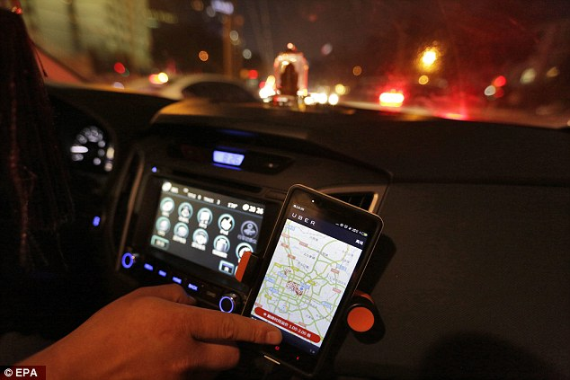 It comes after Canberra became the world's first capital city to legalise Uber and other ride-sharing services n October
