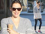 Please contact X17 before any use of these exclusive photos - x17@x17agency.com   Jennifer Garner has an underwear situation during her morning coffee run with a girlfriend! December 8, 2015 X17online.com EXCLUSIVE