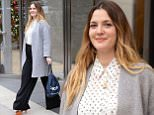 December 9, 2015: Drew Barrymore is pictured this morning leaving  the ICAP Americas building in Jersey City New Jersey.\n Mandatory Credit: Elder Ordonez/INFphoto.com Ref: infusny-160\n