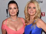 LOS ANGELES, CA - APRIL 30:  (L-R) Actresses  Kyle Richards and Kim Richards attend the REVOLT & NCTA Host VIP Gala For Talent & Cable Execs at Belasco Theatre on April 30, 2014 in Los Angeles, California.  (Photo by Jason Merritt/Getty Images)