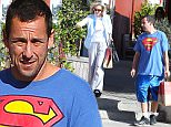 Adam Sandler acting like a real gentleman, carrying bags helping a lady with a broken foot while shopping in Brentwood, CA with his wife.\n\nPictured: Adam Sandler\nRef: SPL1190430  081215  \nPicture by: Splash News\n\nSplash News and Pictures\nLos Angeles: 310-821-2666\nNew York: 212-619-2666\nLondon: 870-934-2666\nphotodesk@splashnews.com\n