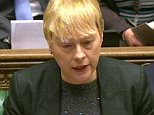 Shadow First Secretary of State Angela Eagle speaks during Prime Minister's Questions in the House of Commons, London. PRESS ASSOCIATION Photo. Picture date: Wednesday December 9, 2015. Photo credit should read: PA Wire
