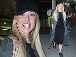 Jorgie Porter arriving at London Heathrow airport.  Pictured: Jorgie Porter arriving at London Heathrow airport. Ref: SPL1192137  091215   Picture by: Sirc / Jenkins Splash News  Splash News and Pictures Los Angeles: 310-821-2666 New York: 212-619-2666 London: 870-934-2666 photodesk@splashnews.com