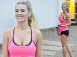 Christine McGuinness, wife of comedian Paddy McGuinness spotted at the gym in Cheshire while her husband is off on tour\n\n09/12/2015\n\n***EXCLUSIVE ALL ROUND***