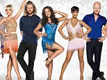 Embargoed to 0001 Thursday December 10 For use in UK, Ireland or Benelux countries only  Undated BBC handout montage of (left to right) Ainsley Harriot, Helen George, Jay McGuiness, Georgia May Foote,  Frankie Bridge, Jake Wood and Anita Rani, who are among the line up for the the Strictly Come Dancing UK tour. PRESS ASSOCIATION Photo. Issue date: Thursday December 10, 2015. The dancers will be joined by judges Len Goodman, Craig Revel Horwood and Bruno Tonioli for the 30-date tour, now in its ninth year. It will be hosted by the Great British Bake Off's Mel Giedroyc. See PA story SHOWBIZ Strictly. Photo credit should read: Ray Burmiston/BBC/PA Wire NOTE TO EDITORS: Not for use more than 21 days after issue. You may use this picture without charge only for the purpose of publicising or reporting on current BBC programming, personnel or other BBC output or activity within 21 days of issue. Any use after that time MUST be cleared through BBC Picture Publicity. Please credit the image to