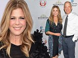 SANTA MONICA, CA - DECEMBER 08:  Actors Rita Wilson and Tom Hanks attend the 25th Annual Simply Shakespeare Benefit for the Shakespeare Center of Los Angeles at The Broad Stage on December 8, 2015 in Santa Monica, California.  (Photo by Michael Tullberg/Getty Images)