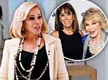 """Melissa Rivers became overwhelmed with emotion during a sit-down with ET on Tuesday, in which she opened up about the honor of playing her late mother in Joy.  Melissa is the spitting image of her mother Joan Rivers in the movie, not only with her physicality but also vocally. She portrays the legendary comedian during her days hosting on QVC.  WATCH: Melissa Rivers Reveals Where She Scattered Her Mother Joan Rivers' Ashes  """"I worked hard on her speech pattern, but not so much the accent because I didn't want it to be an imitation or a caricature,"""" Melissa told ET.  The actress admitted that she teared up when we showed her a clip of her performance.  """"I can't watch myself -- especially like that,"""" Melissa said. """"I think I was so focused on the details and trying to do a good job that it never hit me that I took this crazy emotional risk until I got home and went, 'What did I just do?'""""  WATCH: Melissa Rivers Reveals Why Joan Had a Lifelong Obsession With Death  Joy tells the story of"""