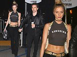 Inglewood, CA - Muse frontman Matt Bellamy and his model girlfriend Elle Evans holds hands as they arrive at The Weeknd concert at The Forum in Inglewood. AKM-GSI         December 8, 2015 To License These Photos, Please Contact : Steve Ginsburg (310) 505-8447 (323) 423-9397 steve@akmgsi.com sales@akmgsi.com or Maria Buda (917) 242-1505 mbuda@akmgsi.com ginsburgspalyinc@gmail.com