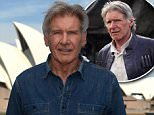 American actor Harrison Ford poses for a photograph in front of the Opera House in Sydney on Wednesday, Dec. 9, 2015. Harrison Ford is in Australia to promote the movie Star Wars: The Force Awakens, which opens nationally on December 17. (AAP Image/Paul Miller) NO ARCHIVING