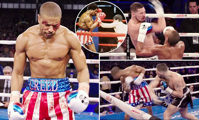 Tony Bellew stars in new film 'Creed' alongside Michael B Jordan, with Sylvester Stallone