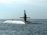 The Ohio-class ballistic missile submarine USS Wyoming (SSBN 742) returns to Naval Submarine Base Kings Bay following routine operations. (U.S. Navy photo by Mass Communication Specialist 1st Class Rex Nelson/Released)