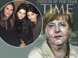 "2015 TIME PERSON OF THE YEAR: ANGELA MERKEL\nChancellor of the Free World \n \nPlus: TIME names the Person of the Year shortlist: No. 2- Abu Bakr al-Baghdadi, leader of ISIS; No. 3. - Donald Trump; No. 4 ¿ The Black Lives Matter Activists; No. 5 ¿ Iran President Hassan Rouhani; No. 6 ¿ Uber CEO Travis Kalanick; No. 7 ¿ Caitlyn Jenner.\n \n(New York, December 9, 2015) ¿ Today, TIME names German Chancellor Angela Merkel TIME Person of the Year.\n \nTIME Editor Nancy Gibbs writes: ""Not once or twice but three times there has been reason to wonder this year whether Europe could continue to exist, not culturally or geographically but as a historic experiment in ambitious statecraft. Merkel had already emerged as the indispensable player in managing Europe¿s serial debt crises; she also led the West¿s response to Vladimir Putin¿s creeping theft of Ukraine. But now the prospect of Greek bankruptcy threatened the very existence of the euro zone. The migrant and refugee crisis challenged the p"