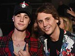 EXCLUSIVE FAO DAILY MAIL ONLINE - GBP 40 PER PICTURE - FEE AGREED  Mandatory Credit: Photo by Startraks Photo/REX Shutterstock (5490666q)  Justin Bieber and Jonathan Cheban  Justin Bieber in concert at Liv at Fontainebleau, Florida, America - 09 Dec 2015