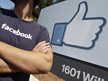 A Facebook worker waits for friends to arrive outside of Facebook headquarters in Menlo Park, California, America. Facebook and Apple, long known for cushy perks such as free meals, laundry service and massages, are among some of Silicon Valley's biggest companies now eyeing reproductive expenses as the next batch of benefits to offer to their employees. (AP Photo/Paul Sakuma, File)