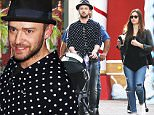 FAO ROBERT OSMOND, MAIL ONLINE - FEE SET AT £400 FOR THE SET FOR ONLINE USE\nEXCLUSIVE Justin Timberlake & Jessica Biel take son Silas to visit Santa at the Christmas house at The Grove\nFeaturing: Justin Timberlake, Jessica Biel\nWhere: Los Angeles, California, United States\nWhen: 09 Dec 2015\nCredit: Owen Beiny/WENN.com