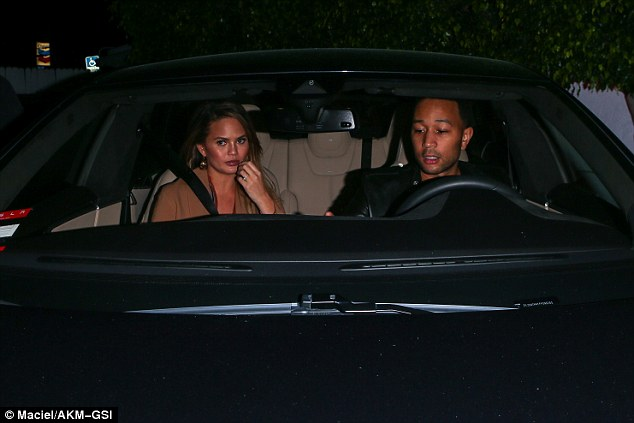 Hometime! There's no denying that the couple were keen to get back to their LA home