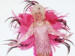 No Merchandising. Editorial Use Only  Mandatory Credit: Photo by ITV/REX Shutterstock (666171ab)  Paul O'Grady as Lily Savage in 'Lily Live' - 2000  ITV Archive
