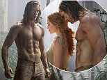 FIRST PICTURES MOVIE LEGEND  OF TARZAN WITH MARGOT ROBBIE AND ALEXANDER SKARSGARD\n\nEdgar Rice Burroughs' Tarzan has been adapted to the screen since the Golden Age of Hollywood, but next summer's The Legend of Tarzan puts a new spin the character. \n\nThis time around, Legend starts with Tarzan (played by True Blood's Alexander Skarsgard) out of the jungle, as John Clayton III, a decade removed from his jungle home and completely established in the British upperclass. Tarzan is sent by Parliament as an emissary to return to the Congo, where his now wife Jane (Suicide Squad's Margot Robbie), and old friends are put in danger. \n\nSkarsgard talked to USA Today about how the story was reversed and hasn't really been done before with the character on screen. øItøs almost the opposite of the classic tale, where itøs about taming the beast,ø he said. øThis is about a man whoøs holding back and slowly as you peel off the layers, he reverts back to a more animalistic state and lets that sid
