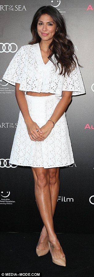 White hot! The brunette beauty is understood to have moved on following her marriage breakdown and is now dating Cheyenne Tozzi's ex, Tyson Mullane