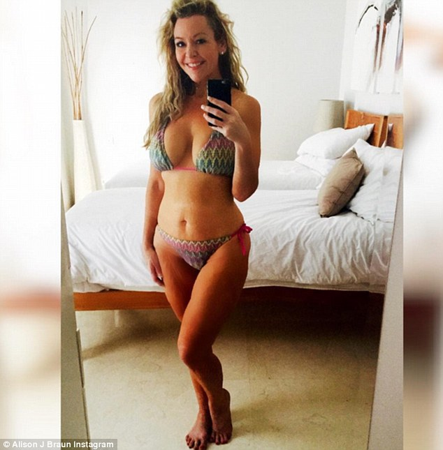What a transformation! Managing to keep off the massive 66kg she lost on season three of The Biggest Loser, Alison took to social media last month to share an inspiring selfie of her bikini body seven years on