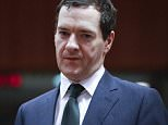epa05059055 British Chancellor of the Exchequer, George Osborne arrives for  the start of an EU Finance Ministers meeting in Brussels, Belgium, 08 December 2015. Eleven EU countries failed on 07 December to overcome their last differences on the creation of a controversial tax on financial transactions, but decided to continue their negotiations on 08 December.  EPA/OLIVIER HOSLET