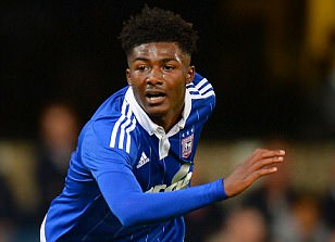 Arsenal starlet Ainsley Maitland-Niles has shown maturity and shouldered responsibility on