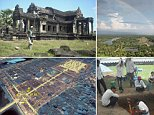 Angkor Wat's buried towers