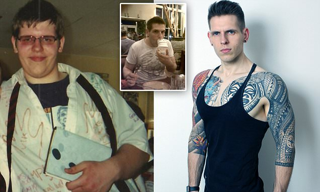 Extreme yo-yo dieter who weighed 20st age 16 reveals how he shed five stone TWICE