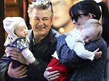 EXCLUSIVE: US actor Alec Baldwin his wife Hilaria and their children spending holidays in Madrid.\nThe couple walked out and about in the city and they went to dinner in OlÈ restaurant\n\nPictured: Alec Baldwin and family\nRef: SPL1192786  091215   EXCLUSIVE\nPicture by: Splash News\n\nSplash News and Pictures\nLos Angeles: 310-821-2666\nNew York: 212-619-2666\nLondon: 870-934-2666\nphotodesk@splashnews.com\n