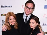 NEW YORK, NY - DECEMBER 08:  (L-R) Candace Cameron Bure, Bob Saget and Ashley Olsen attend Cool Comedy - Hot Cuisine, A Benefit For The Scleroderma Research Foundation at Carolines On Broadway on December 8, 2015 in New York City.  (Photo by Ilya S. Savenok/Getty Images for Scleroderma Research Foundation)