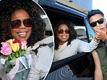 "EXCLUSIVE  OPRAH WINFREY ARRIVES IN BRISBANE AHEAD OF HER ""AN EVENING WITH OPRAH"""